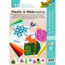 Set Flechtmotive / Webmotive Winter, DIN A4