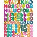 Magnete Buchstaben, 100 Stück