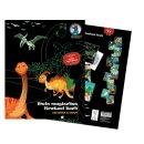 Mein magisches Kratzel Buch Drachen und Dinos
