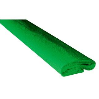Krepppapier/Feinkrepp grasgrün 10 Rollen, 50 x 250 cm