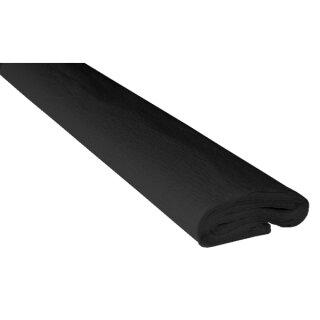 Krepppapier/Feinkrepp schwarz 10 Rollen, 50 x 250 cm