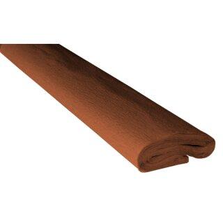 Krepppapier/Feinkrepp kastanie 10 Rollen, 50 x 250 cm