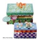 Artdecor Mosaiksteine bunt gemischt, 10 x 10 mm, Eimer...