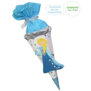 Schultüte Bastelset Sternenprinzessin vorgestanzt, inkl. Schulstarterpaket GRATIS
