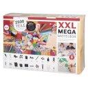 XXL-Mega-Bastelbox, 2.500 Teile, Box
