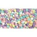 Pompons Pastell Glitter, Ø 15 – 40 mm, ca....