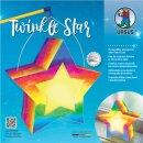 Laternen Bastelset Twinkle Star Aquarell, 1 Stück