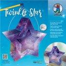 Laternen Bastelset Twinkle Star Galaxie, 1 Stück