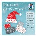 Faltblätter Nordic Christmas, 15 x 15 cm, 120 Blatt,...