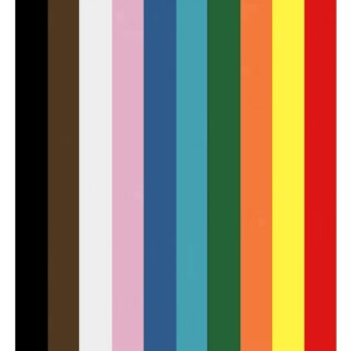 Tonkarton DIN A4 100 Blatt farbig sortiert 220 g/qm