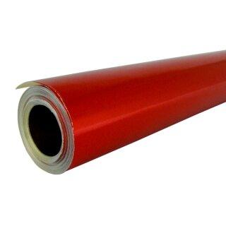 Alufolie/Doppelfolie, rot / gold, 10 m Rolle