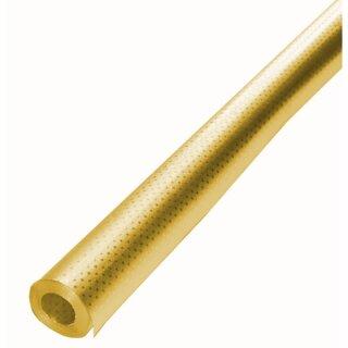 Alufolie m. Sternchenprägung gold/gold, 10 m Rolle, 50 cm breit
