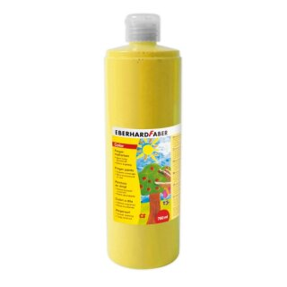 Fingermalfarbe gelb, 750 ml von Eberhard Faber