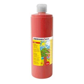 Fingermalfarbe rot, 750 ml von Eberhard Faber
