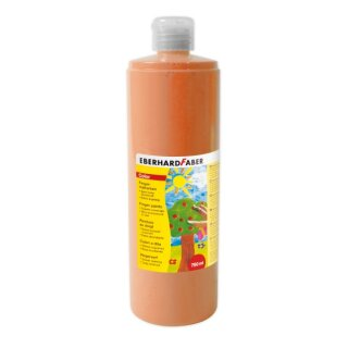 Fingermalfarbe orange, 750 ml von Eberhard Faber