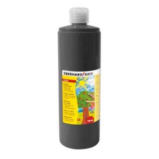 Fingermalfarbe schwarz, 750 ml von Eberhard Faber