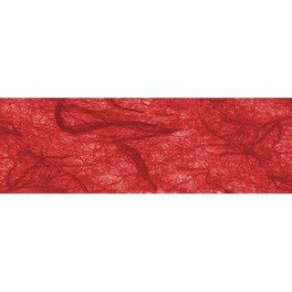 """Strohseide """"rubinrot"""" 5 Bögen a` 50 x 70 cm, 25 g/qm"""