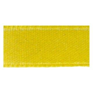Doppelsatinband, 3 mm, 10 m Rolle, gelb