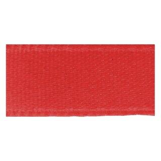 Doppelsatinband, 3 mm, 10 m Rolle, rot