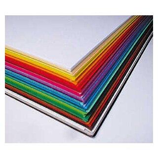Tonzeichenpapier, 500 Blatt, in 25 Farben sort., DIN A4