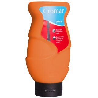 Cromar Farbe, 500 ml, orange,