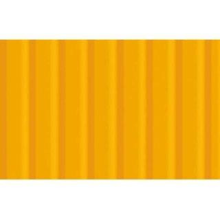 Wellpappe 10 Bogen 50 x 70 cm Sonnengelb, 260 g/qm