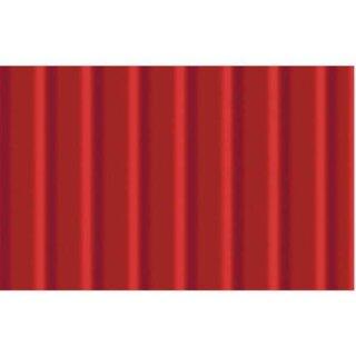Wellpappe 10 Bogen 50 x 70 cm Rubinrot, 260 g/qm