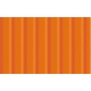Wellpappe 10 Bogen 50 x 70 cm Orange, 260 g/qm