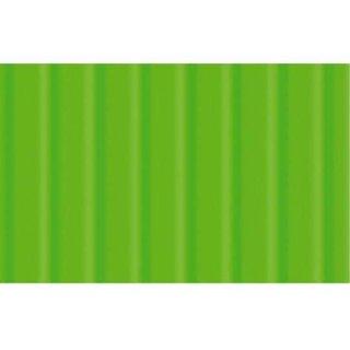 Wellpappe 10 Bogen, 50 x 70 cm Hellgrün, 260 g/qm