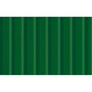 Wellpappe 10 Bogen 50 x 70 cm Tannengrün, 260 g/qm