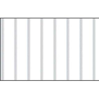 Wellpappe weiß, 50 x 70 cm, 10 Bogen