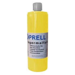 Fingermalfarbe gelb, 750 ml von Prell