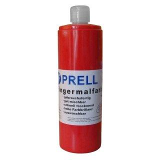 Fingermalfarbe rot, 750 ml von Prell