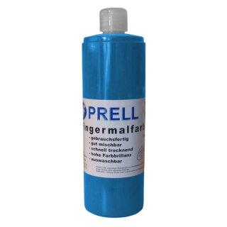 Fingermalfarbe blau, 750 ml von Prell