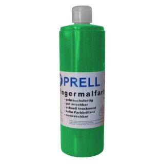 Fingermalfarbe grün, 750 ml von Prell