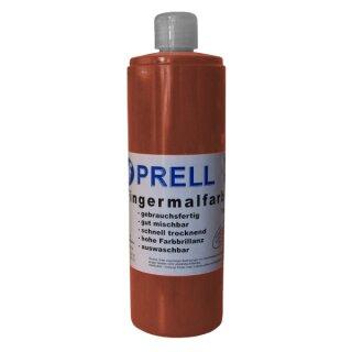 Fingermalfarbe braun, 750 ml von Prell