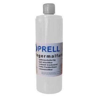 Fingermalfarbe weiss, 750 ml von Prell