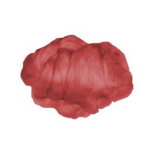 Märchenwolle / Filzwolle rot, 50 g