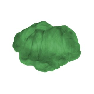 Märchenwolle / Filzwolle grün, 50 g