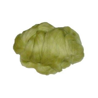 Märchenwolle / Filzwolle hellgrün, 50 g