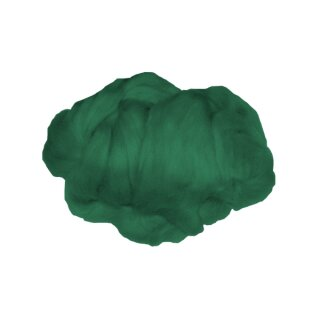 Märchenwolle / Filzwolle tannengrün, 50 g