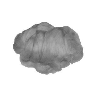 Märchenwolle / Filzwolle grau, 50 g