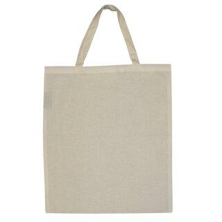 Einkaufstasche, 38 x 42 cm Baumwolle natur, 1 Stück