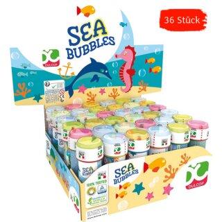 36 Seifenblasen ca. 60 ml mit Geduldspiel im Deckel versch. farbig sortiert