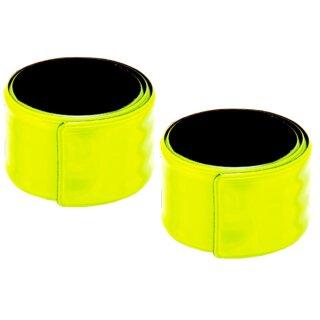 Reflektorbänder 33,5 x 2,75 cm 2 Stück, Kunststoff von Eduplay