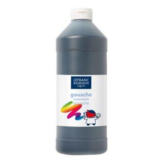 Schultempera Farbe Schwarz 1000 ml von ColArt