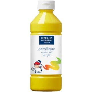 Acrylfarbe Liquid-Acrylic von ColArt Primärgelb 500 ml