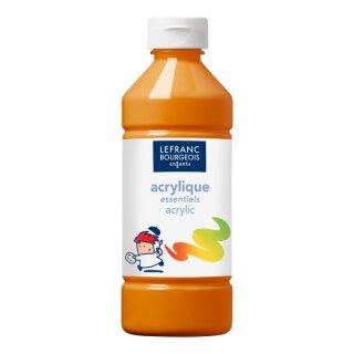 Acrylfarbe Liquid-Acrylic von ColArt Orange 500 ml