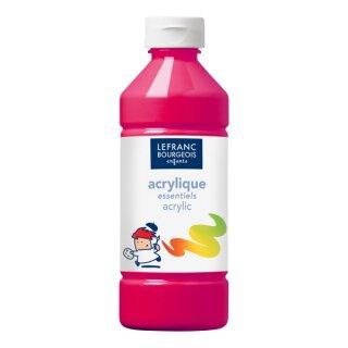 Acrylfarbe Liquid-Acrylic von ColArt Magenta 500 ml,