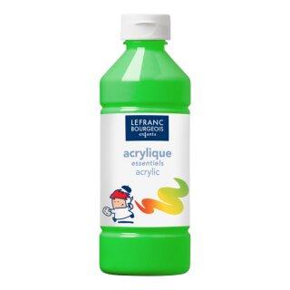 Acrylfarbe Liquid-Acrylic von ColArt Hellgrün 500 ml